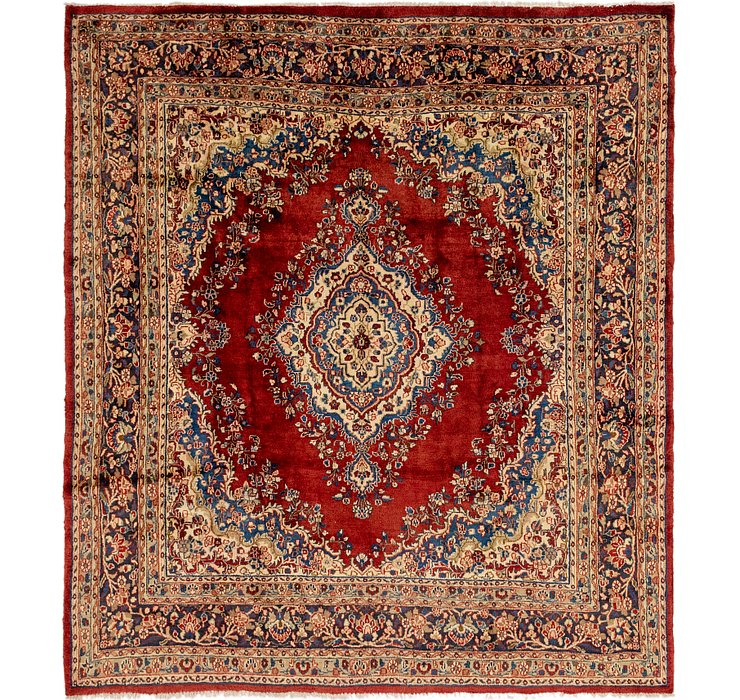 9' x 9' 10 Shahrbaft Persian Squar...