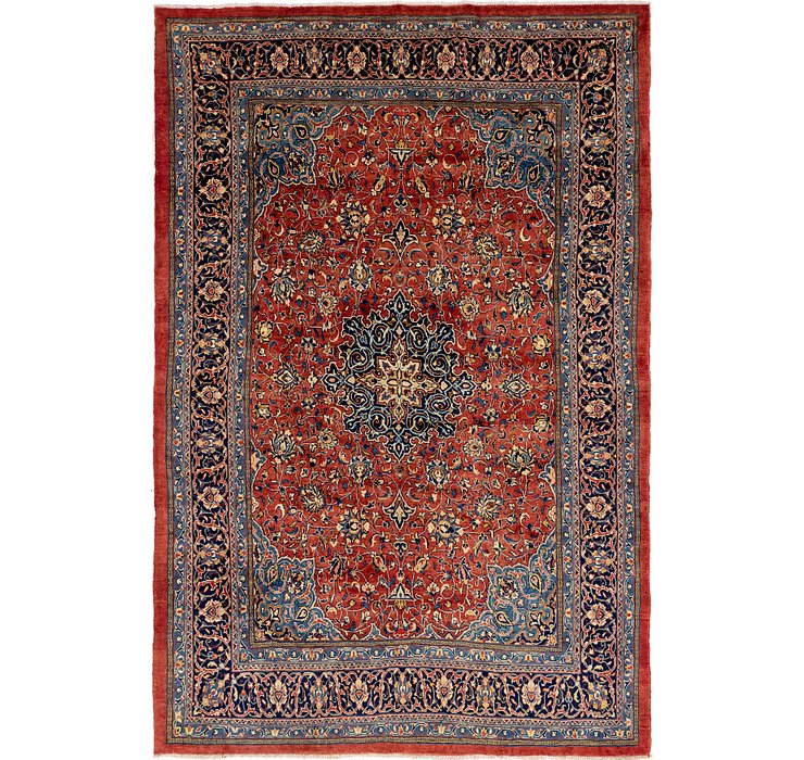 8' 10 x 13' 6 Sarough Persian Rug