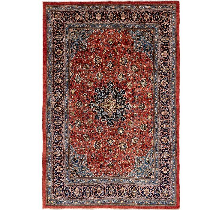8' 10 x 13' 6 Sarough Persian Rug