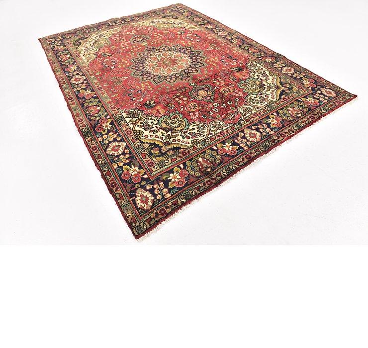 6' 10 x 9' 3 Tabriz Persian Rug