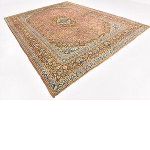Link to 300cm x 390cm Mashad Persian Rug page