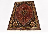 Link to 112cm x 157cm Ghashghaei Persian Rug