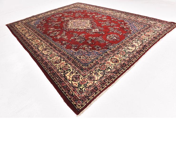10' 7 x 13' 9 Shahrbaft Persian Rug