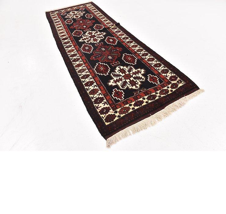 3' 9 x 11' Shahsavand Persian Runn...