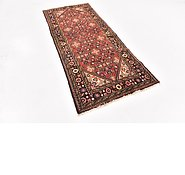 Link to 102cm x 257cm Hossainabad Persian Runner Rug