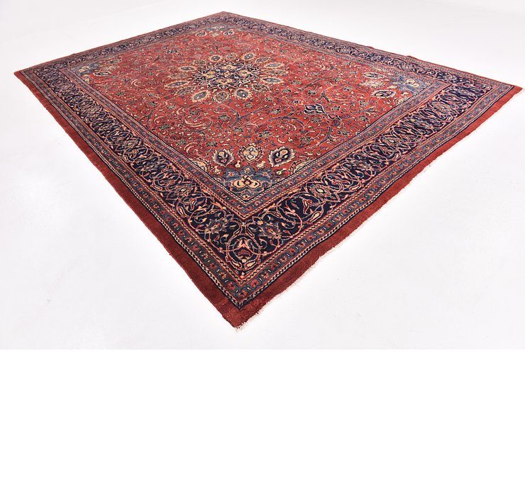 9' 8 x 13' 9 Mahal Persian Rug