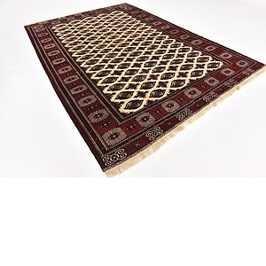 Link to 240cm x 345cm Torkaman Persian Rug item page