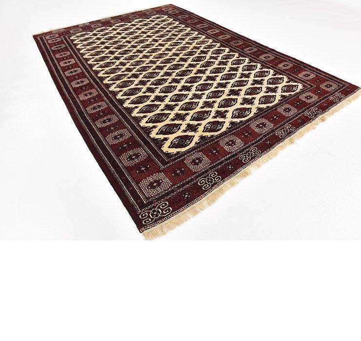 7' 10 x 11' 4 Torkaman Persian Rug