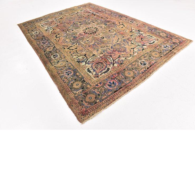 7' 7 x 10' 9 Heriz Persian Rug