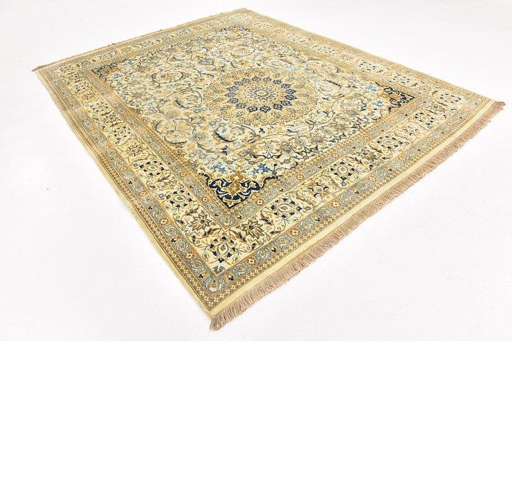 8' x 9' 9 Nain Persian Rug
