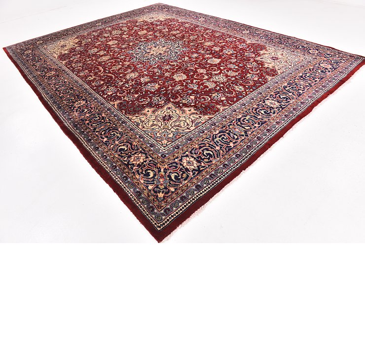 10' x 13' 2 Sarough Persian Rug