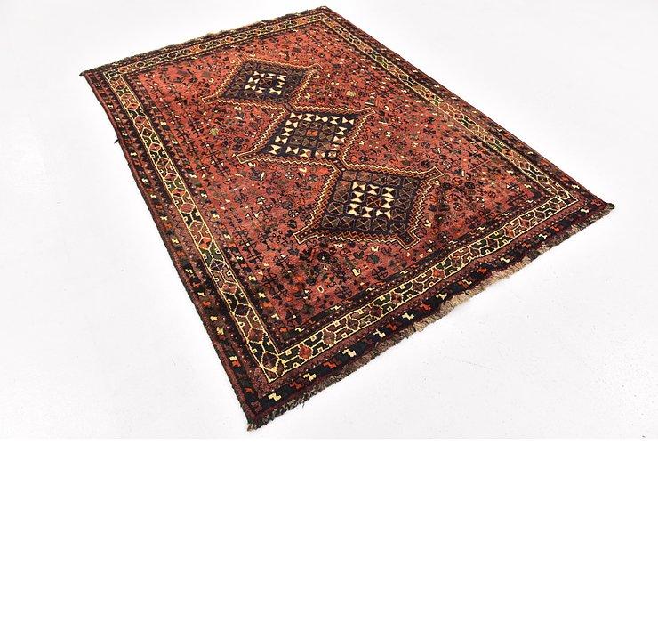 5' x 7' Ghashghaei Persian Rug