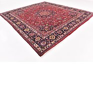 Link to 9' 7 x 10' 10 Mashad Persian Square Rug