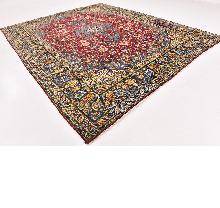 9' x 11' 10 Isfahan Persian Rug
