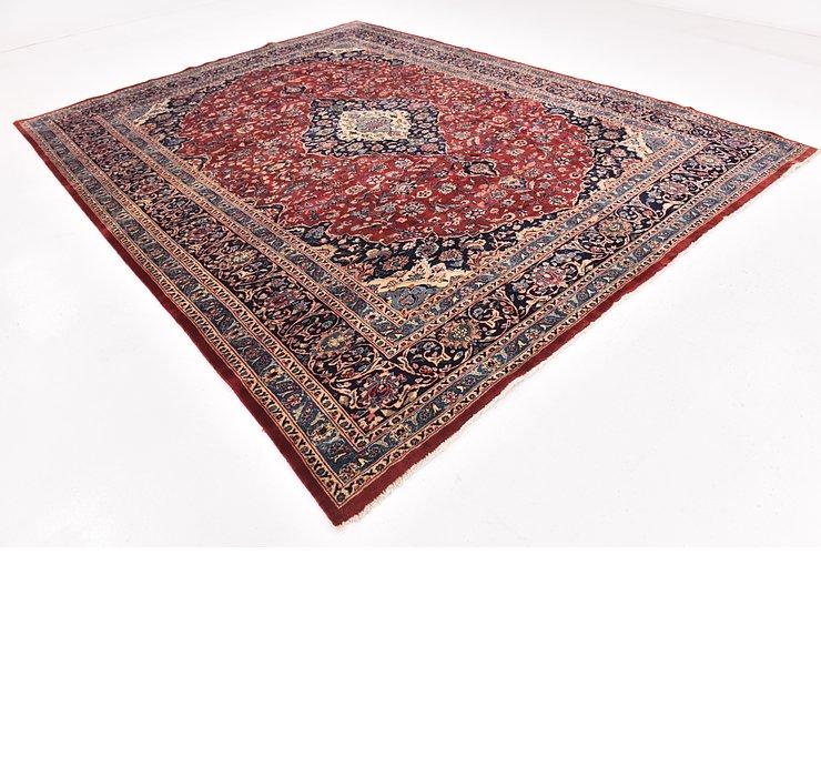 9' 9 x 12' 5 Isfahan Persian Rug