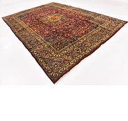 Link to 9' 5 x 13' Mashad Persian Rug