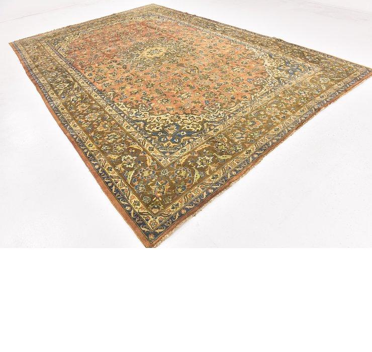 9' 8 x 14' Mashad Persian Rug