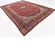 Link to 9' 6 x 13' 9 Kashan Persian Rug