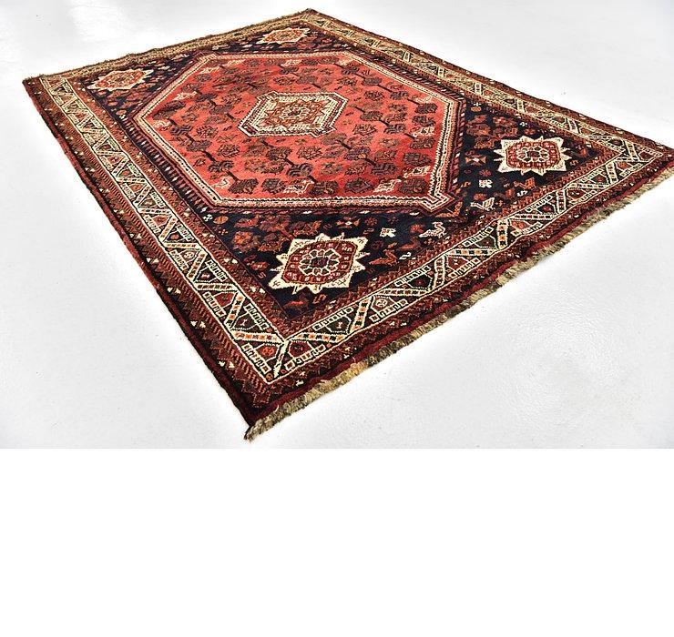 5' 2 x 7' Ghashghaei Persian Rug
