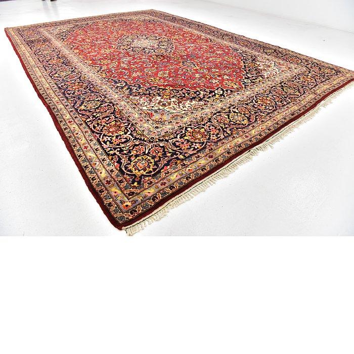 9' 10 x 14' 6 Kashan Persian Rug