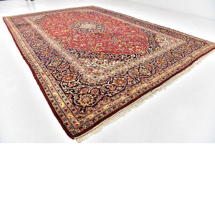 300cm x 442cm Kashan Persian Rug