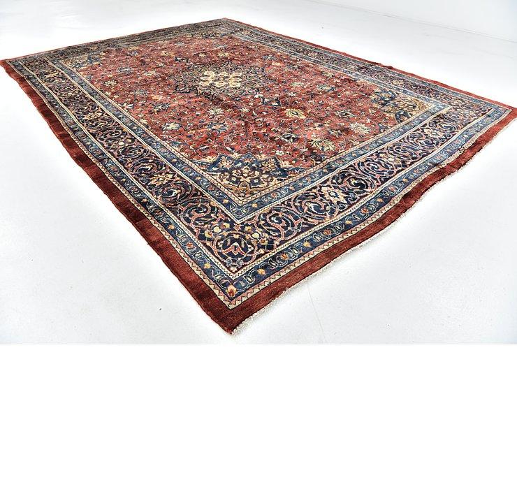 9' 2 x 12' 6 Sarough Persian Rug