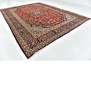 Link to 9' 9 x 13' 3 Kashan Persian Rug