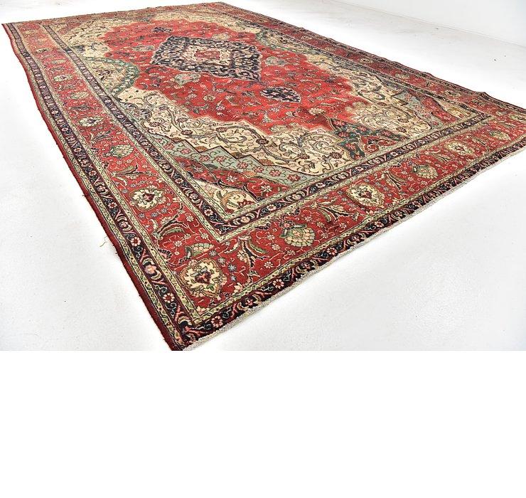 10' x 16' 2 Tabriz Persian Rug