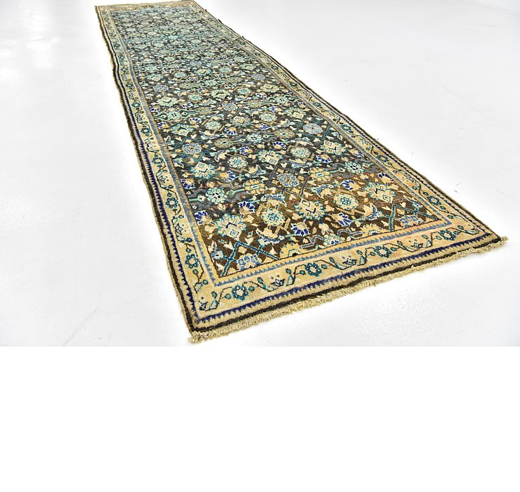 110cm x 422cm Hossainabad Persian Run...