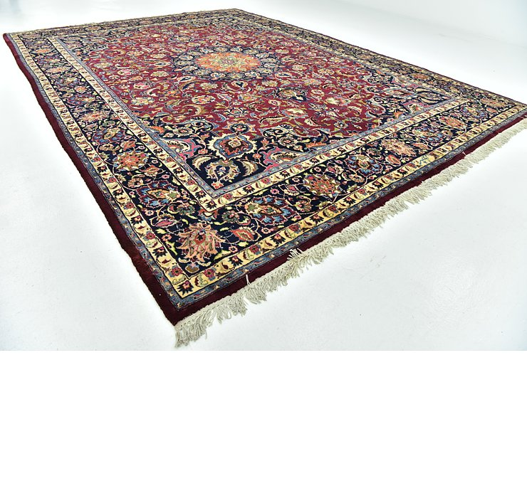 10' x 13' 6 Mashad Persian Rug