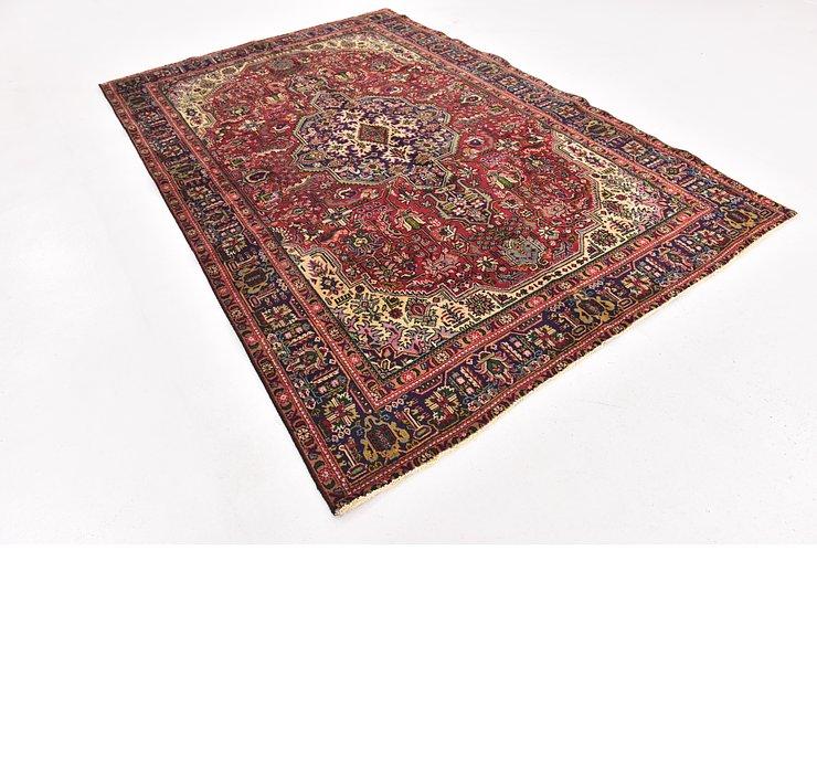 6' 6 x 9' 8 Tabriz Persian Rug
