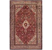 Link to 6' 5 x 9' 10 Hamedan Persian Rug