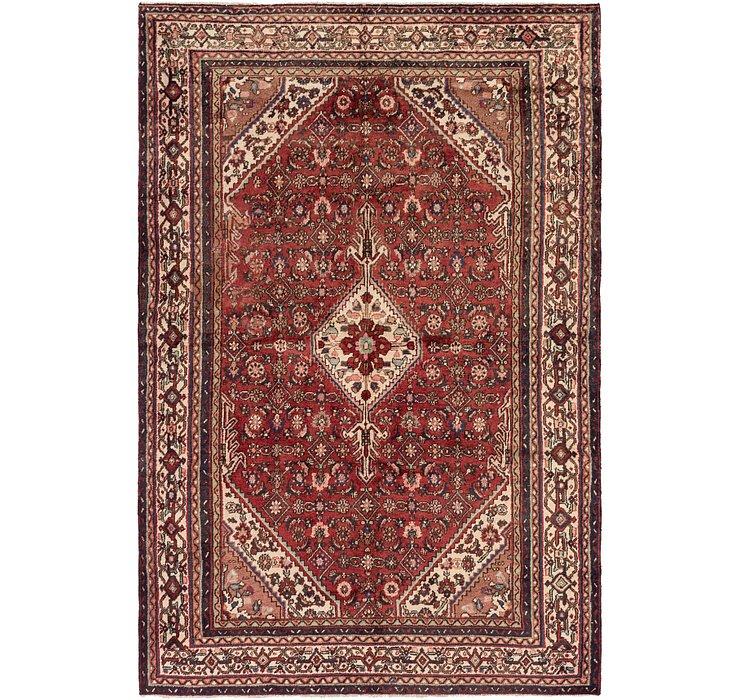 6' 5 x 9' 10 Hamedan Persian Rug