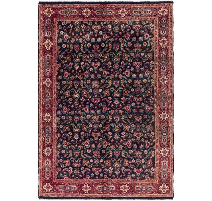 6' 5 x 9' 10 Mashad Persian Rug