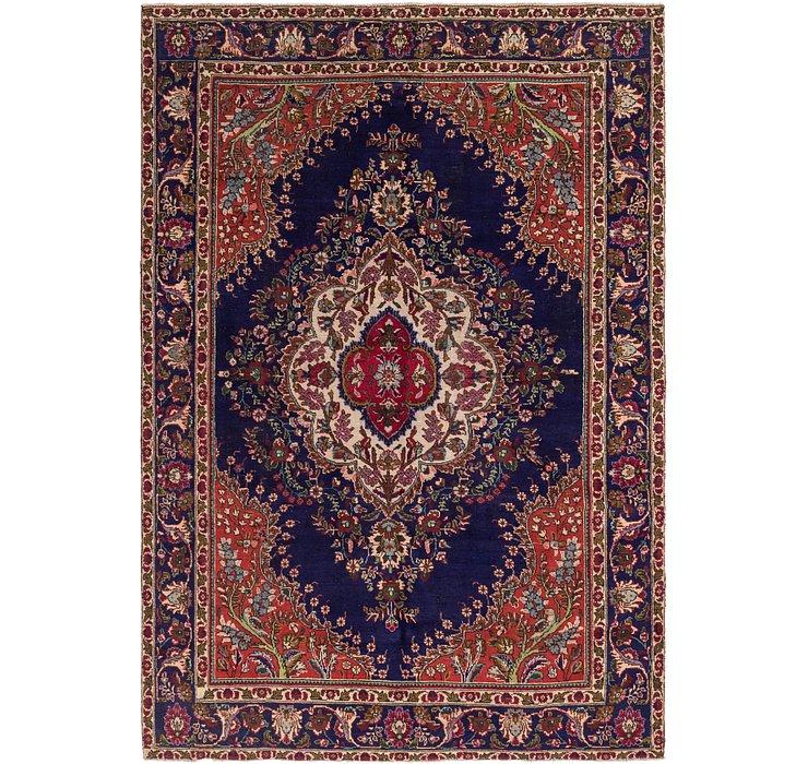 6' 8 x 9' 6 Tabriz Persian Rug