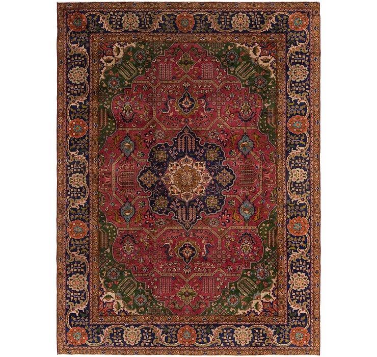 8' x 10' 8 Tabriz Persian Rug