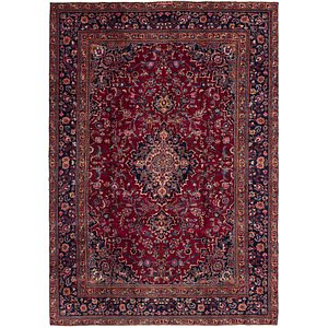 Link to 230cm x 335cm Mashad Persian Rug item page