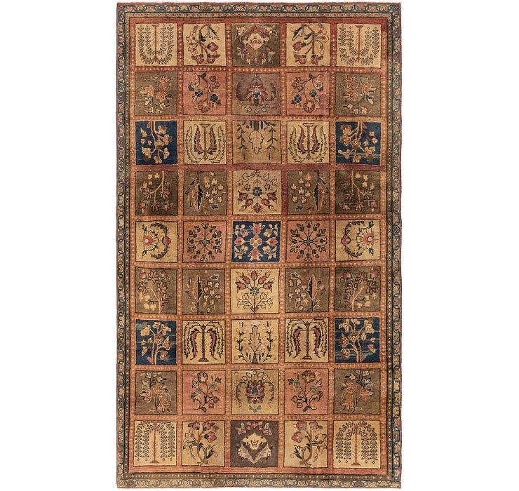 4' 7 x 8' Bakhtiar Persian Rug