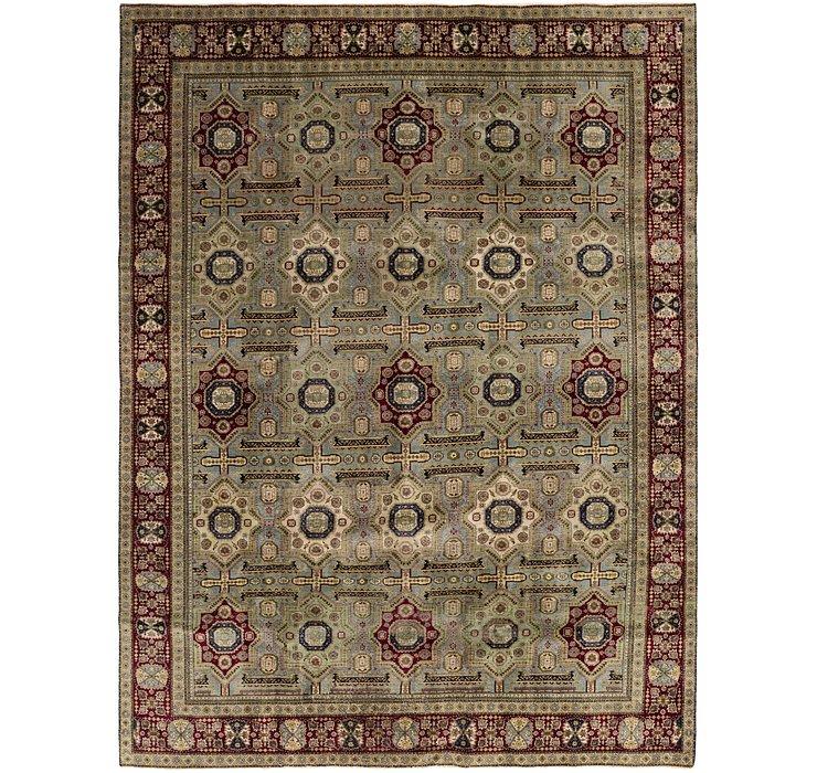 9' 5 x 12' 4 Tabriz Persian Rug