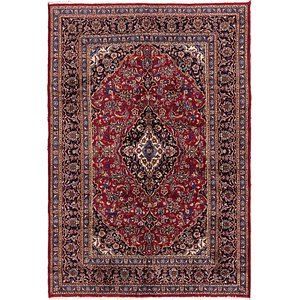 Link to 198cm x 290cm Mashad Persian Rug item page