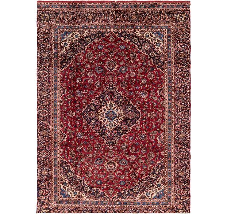 8' 7 x 11' 9 Kashan Persian Rug
