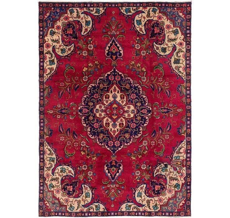 7' 8 x 10' 8 Tabriz Persian Rug