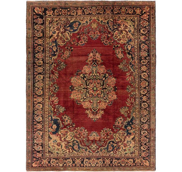 8' 4 x 11' Meshkabad Persian Rug