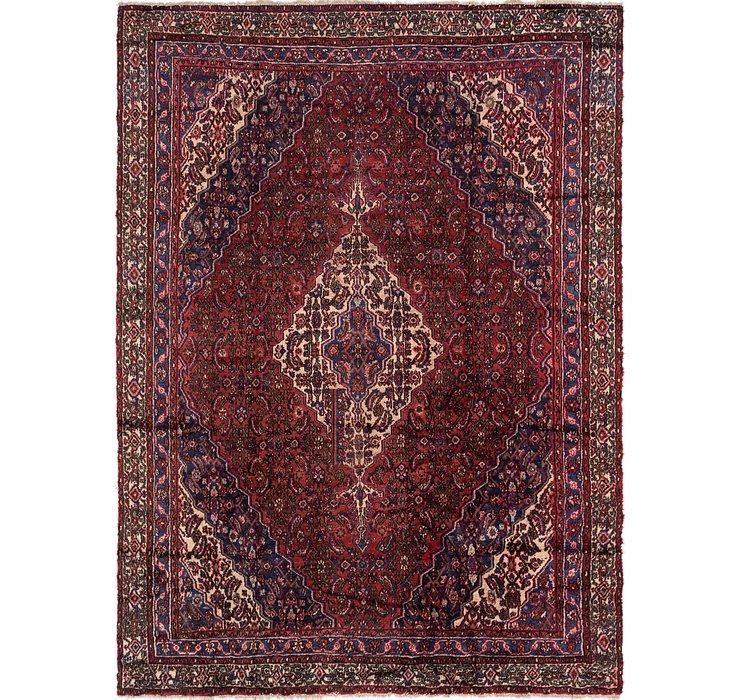8' x 11' Hamedan Persian Rug