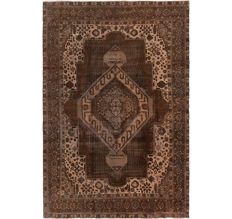 7' 4 x 11' Tabriz Persian Rug