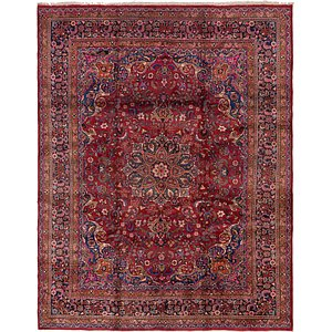 Link to 305cm x 385cm Mashad Persian Rug item page