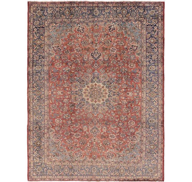 9' x 12' 6 Isfahan Persian Rug
