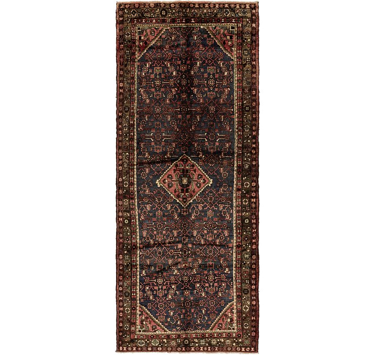 122cm x 318cm Hossainabad Persian Run...