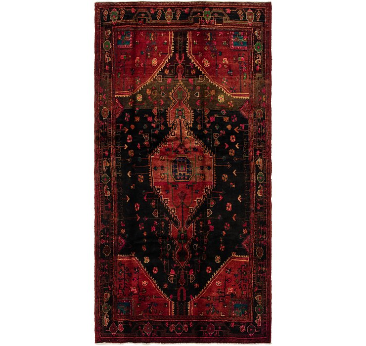4' 10 x 9' 8 Tuiserkan Persian Rug