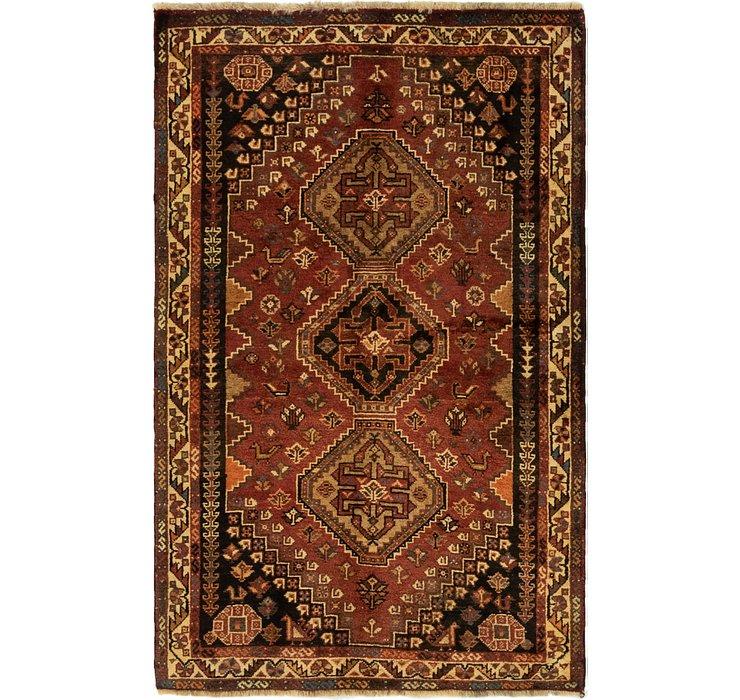 3' 4 x 5' 5 Ghashghaei Persian Rug